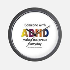 ADHD Pride Wall Clock