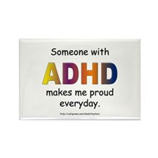 ADHD Pride Rectangle Magnet
