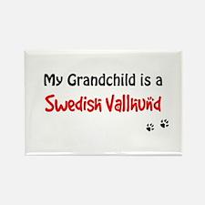 Swedish Vallhund Grandchild Rectangle Magnet
