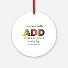 ADD Pride Ornament (Round)