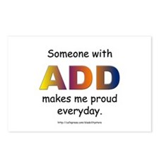 ADD Pride Postcards (Package of 8)