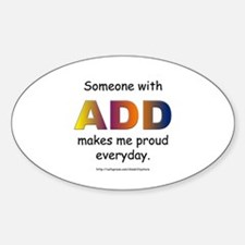 ADD Pride Oval Decal