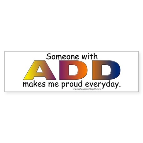 ADD Pride Bumper Sticker