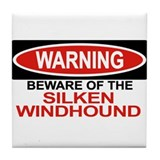 Silken windhound Drink Coasters
