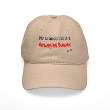 Norwegian Buhund Grandchild Baseball Baseball Cap