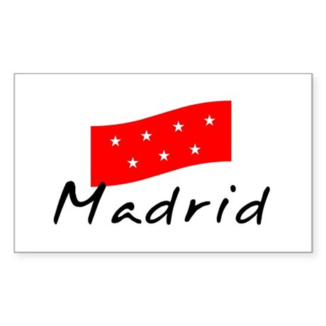Madrid II Rectangle Sticker