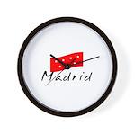 Madrid II Wall Clock