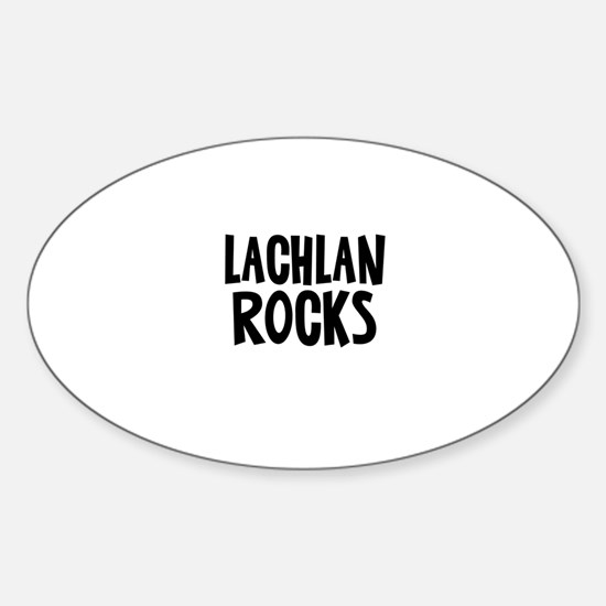 Lachlan Rocks Oval Decal