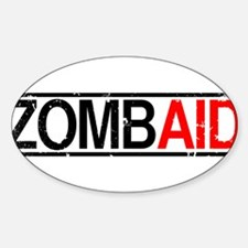 ZombAid Oval Decal