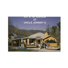 Uncle Johnny's Rectangle Magnet