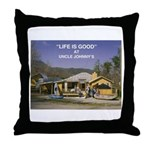 Uncle Johnny's Throw Pillow