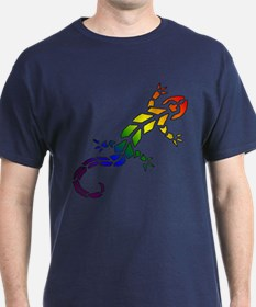 Rainbow Lizard T-Shirt