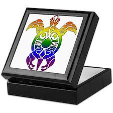 Rainbow Turtle Keepsake Box