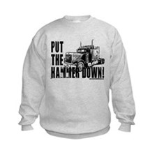 Trucker-Hammer Down-Blk Sweatshirt