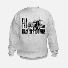 Trucker-Hammer Down-Blk Sweatshirt