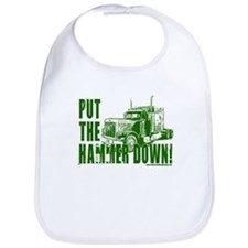 Trucker-Hammer Down-Grn Bib