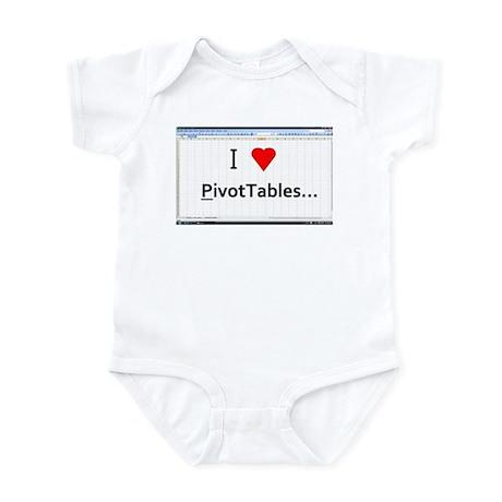 Excel_shirt_pivottables Body Suit