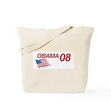 Obama in 08 Tote Bag