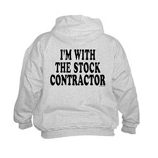 """""""I'm With The Stock Contractor"""" Hoodie"""