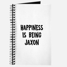 Happiness is being Jaxon Journal