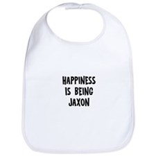 Happiness is being Jaxon Bib