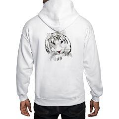 White Bengal Tiger Hoodie