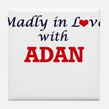 Madly in love with Adan Tile Coaster