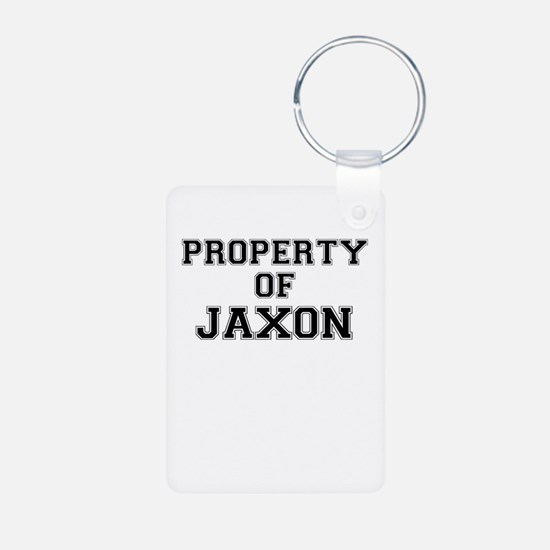Property of JAXON Keychains