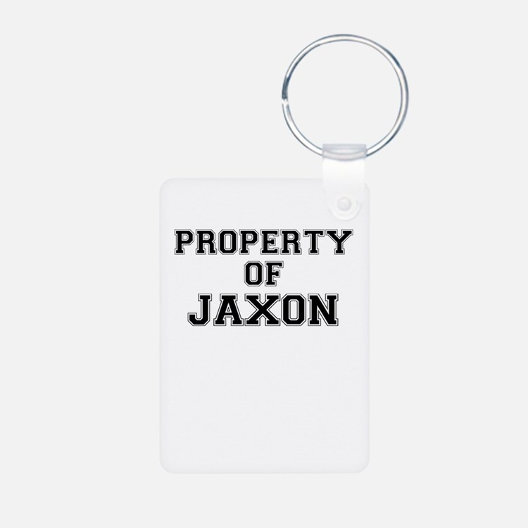 Property of JAXON Keychains