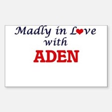 Madly in love with Aden Decal
