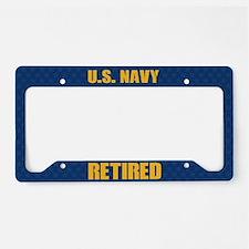 U.S. Navy Reitred License Plate Holder