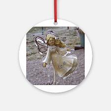 Frozen Love {Angel} Ornament (Round)