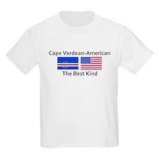 Cape Verdean American-The Bes T-Shirt