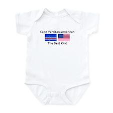 Cape Verdean American-The Bes Onesie