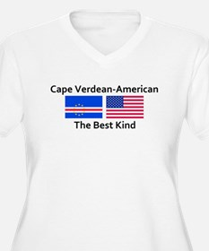 Cape Verdean American-The Bes T-Shirt