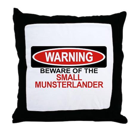 SMALL MUNSTERLANDER Throw Pillow