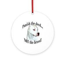 Dogo AntiBSL3 Ornament (Round)