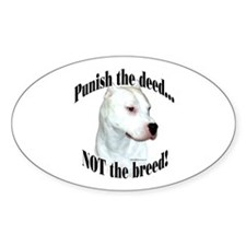 Dogo AntiBSL3 Oval Decal