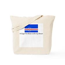 A Cape Verdean stole my heart Tote Bag