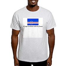A Cape Verdean stole my heart T-Shirt