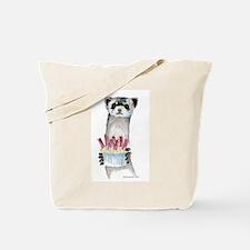 Birthday Ferret Tote Bag
