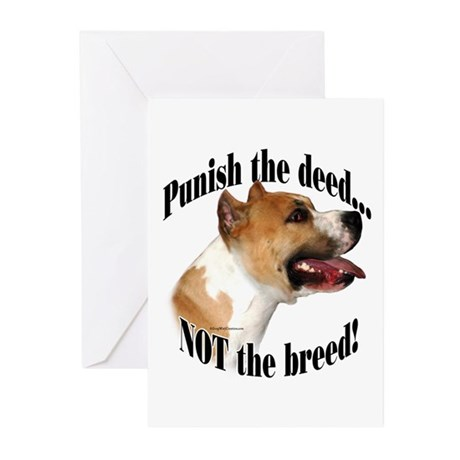 AmStaff AntiBSL3 Greeting Cards (Pk of 20)
