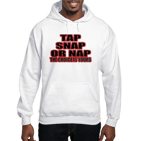 Tap or Snap Hooded Sweatshirt