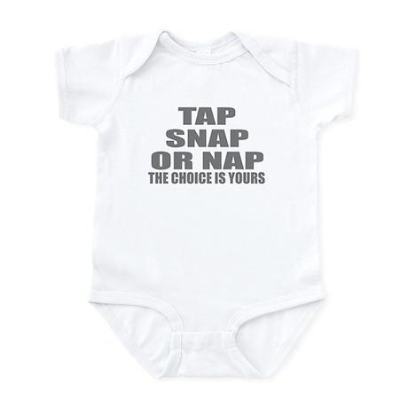 Tap or Snap Infant Bodysuit