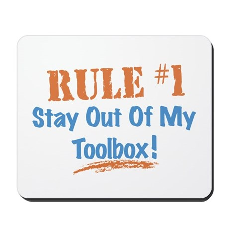 Toolbox Rules Mousepad