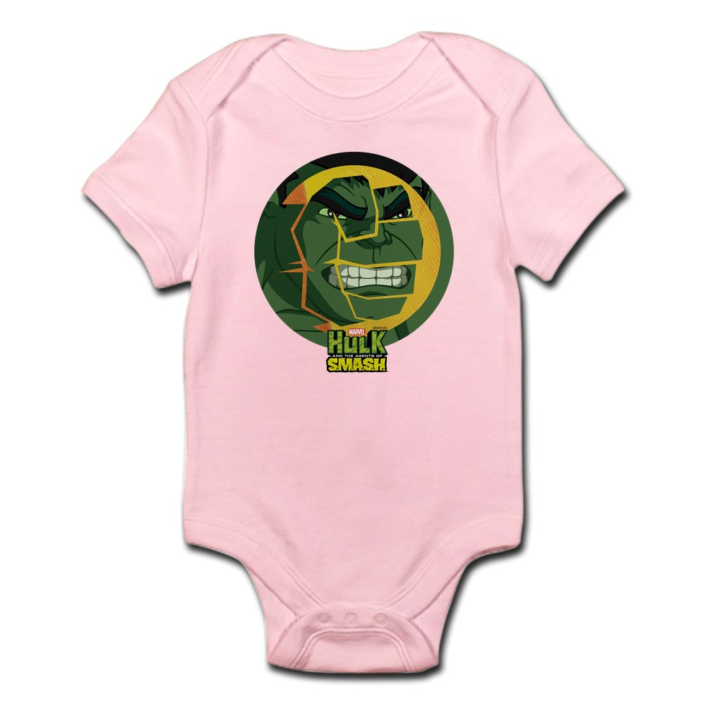 CafePress Hulk Smash Cute Infant Bodysuit Baby Romper 199054426