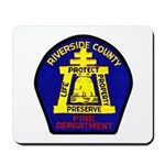 Riverside County Fire Mousepad