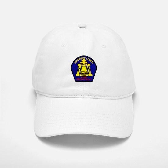Riverside County Fire Baseball Baseball Cap