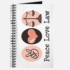 Peace Love Law School Lawyer Journal