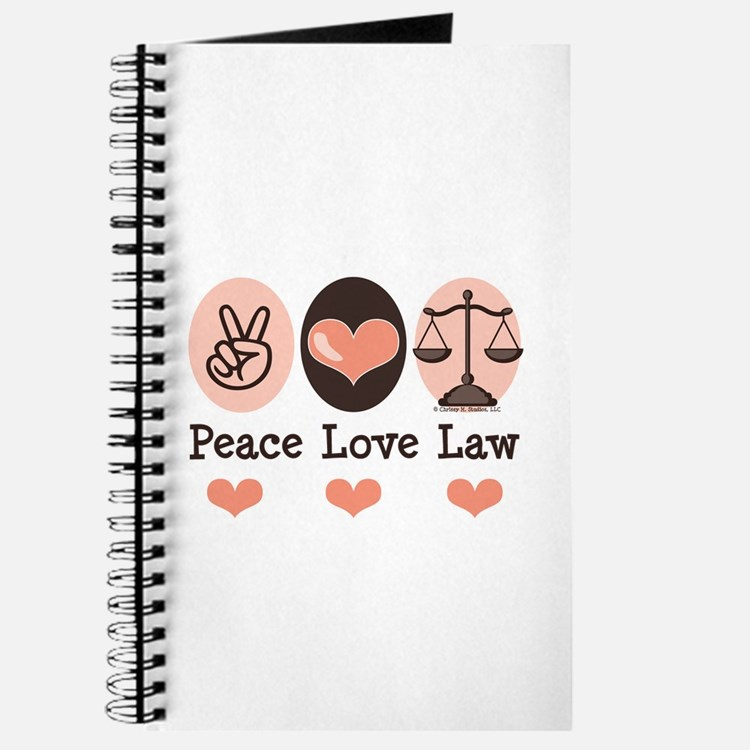 Peace Love Law School Lawyer Journal